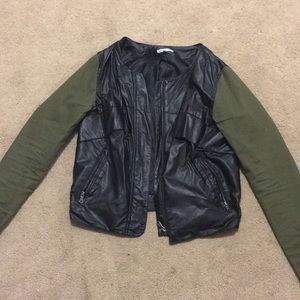 Charlotte Russe Leather Jacket